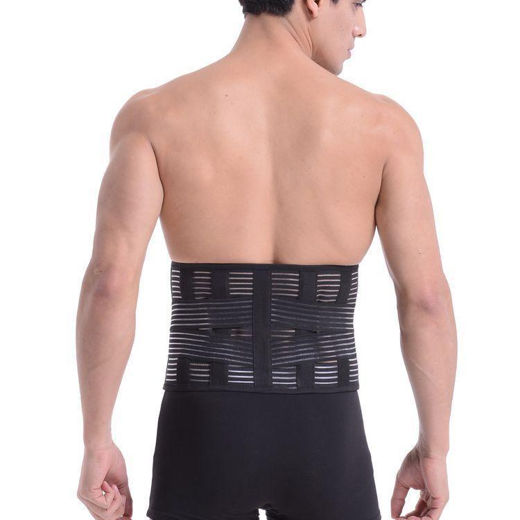 respirant plaque d'acier de protection contre les dommages à la taille de sport confortable Ceinture de protection