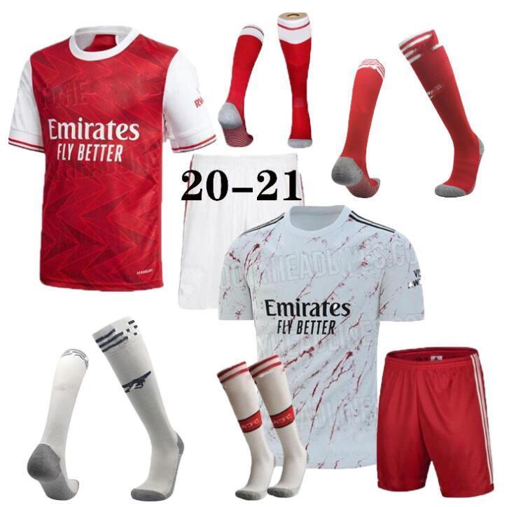 camisa de futebol Arsen 20 21 PEPE SAKA NICOLAS CEBALLOS HENRY