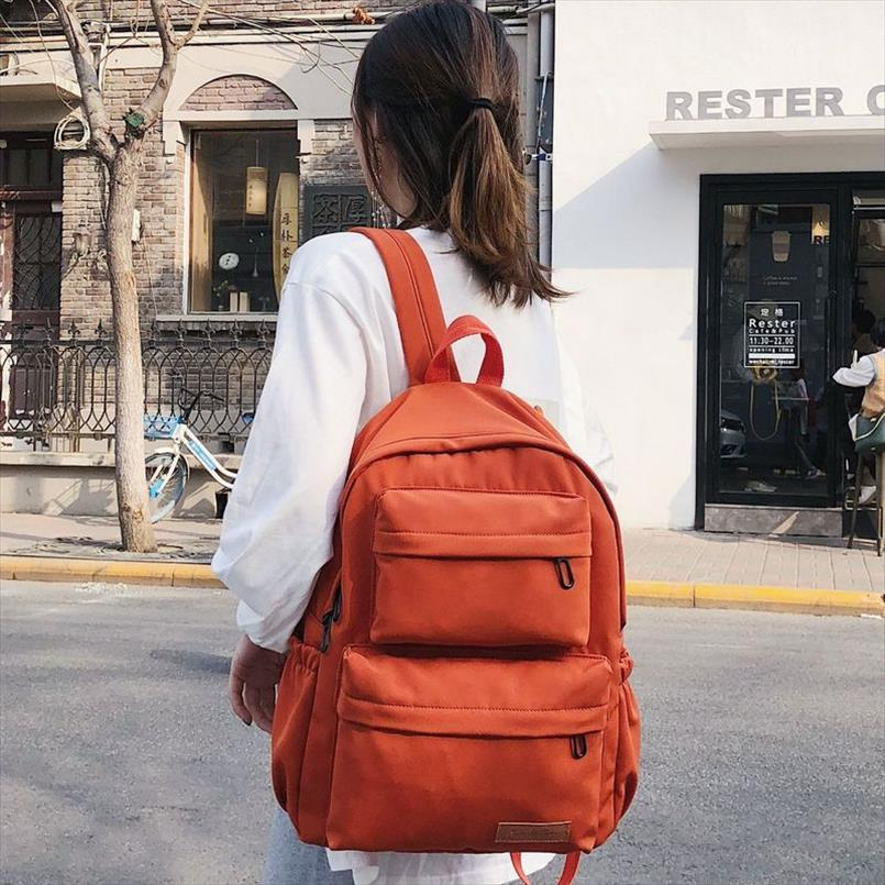 Borse Girls School per adolescenti Studente donne dello zaino Grande 2019 New Oxford verde Bookbag multifunzionale Bagpack