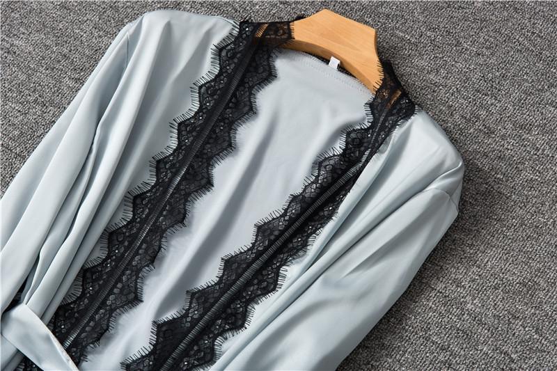 Полночь сексуальный атлас летней женщины 507 Полуночное нижнее белье пижамы дома пижамы сексуальное нижнее белье дома сатин Nightgown лета женщин ночной рубашке