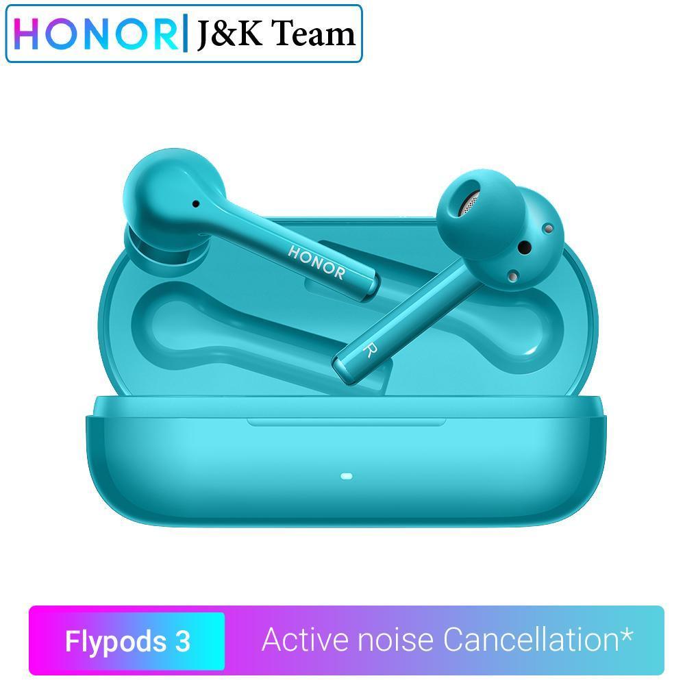 Cgjxs Onore Flypods 3 Cuffie senza fili Bluetooth Active Noise cancellazione 5 .0 auricolare Tws cuffie doppio microfono