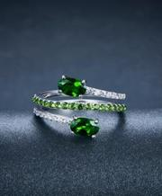 925 Sterling Silver Spring Ring