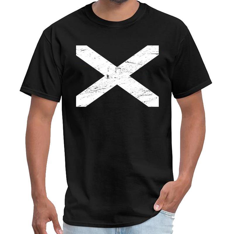 La stampa bandiera scozzese   maglietta degli uomini saucezhan roccia maglietta di Renaissance Festival disegno 3xl 4xl 5XL tee top