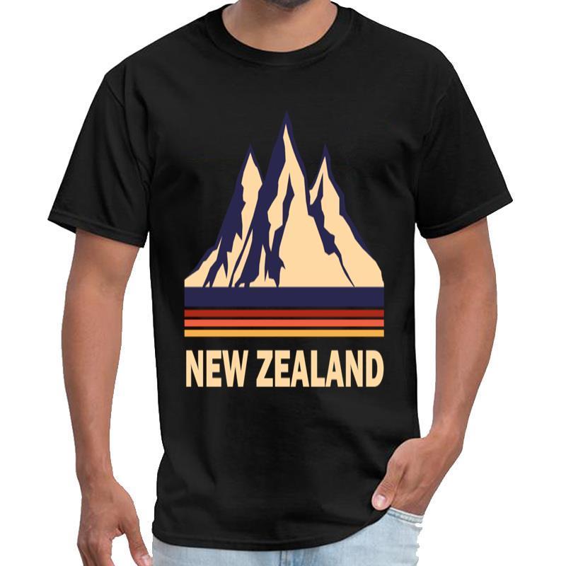 Stampato Nuova Zelanda streetwear maglietta signori vipkid maglietta s-5XL Pop Top tee