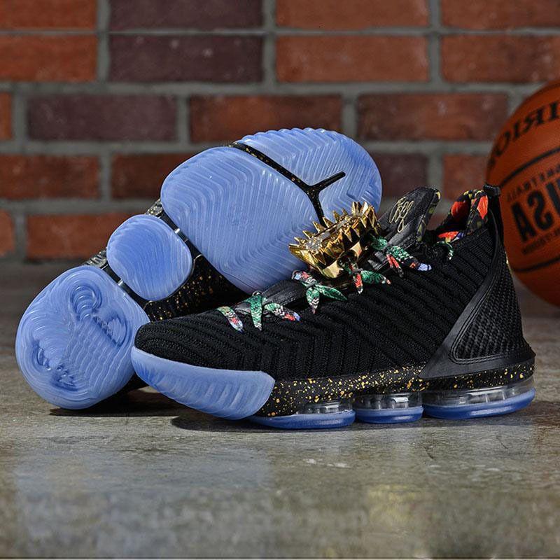 2019 New шестнадцатой 16 Kc смотреть на обуви Throne Равенство Главной King баскетбольной мужские 16s шестнадцатого BHM Black Размер Us 7-12