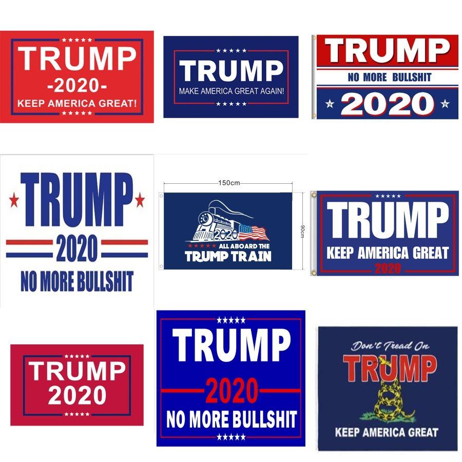 90x150cm Donne Trump 2020 Flag Stampa Keep America drappellone Giardino decorazione della finestra Presidente USA americano Donald Flag LJJA2942 # 673