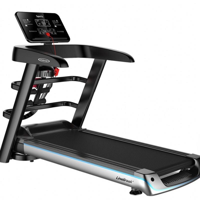 Ev Koşu 3PQk için # 2020 yeni Katlama Renkli Ekran Elektrik Koşu Fonksiyonlu Egzersiz Aletleri Run Eğitimi Kapalı Spor