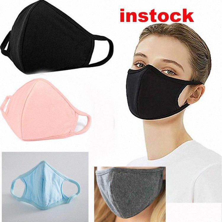 5 colores contra el polvo neblina boca hombre de gran tamaño negro de ventilación vertical del diseñador de las mujeres de color rosa máscara de la cara de la moda DHE130 1YLE #