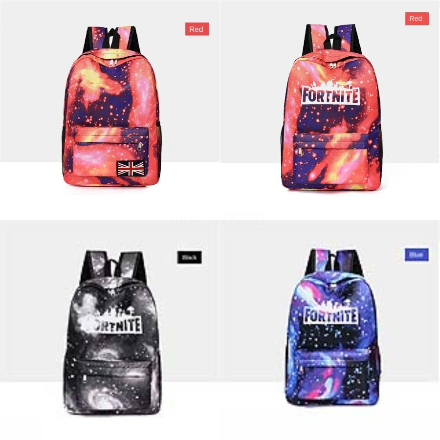 Big Large Thick Thermal Cooling Fortnite Starry Sky Fortress Night Backpack Family Picnic Food Storage Bag Insulated Organizer#664