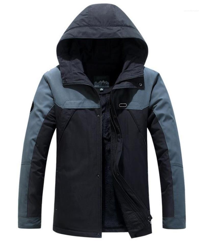 Ceket Moda Sıcak Nefes Erkek Fermuar Kapşonlu Ceketler Casual Platformu Tasarımcı Erkekler Giyim Kasetli Mens Tasarımcısı
