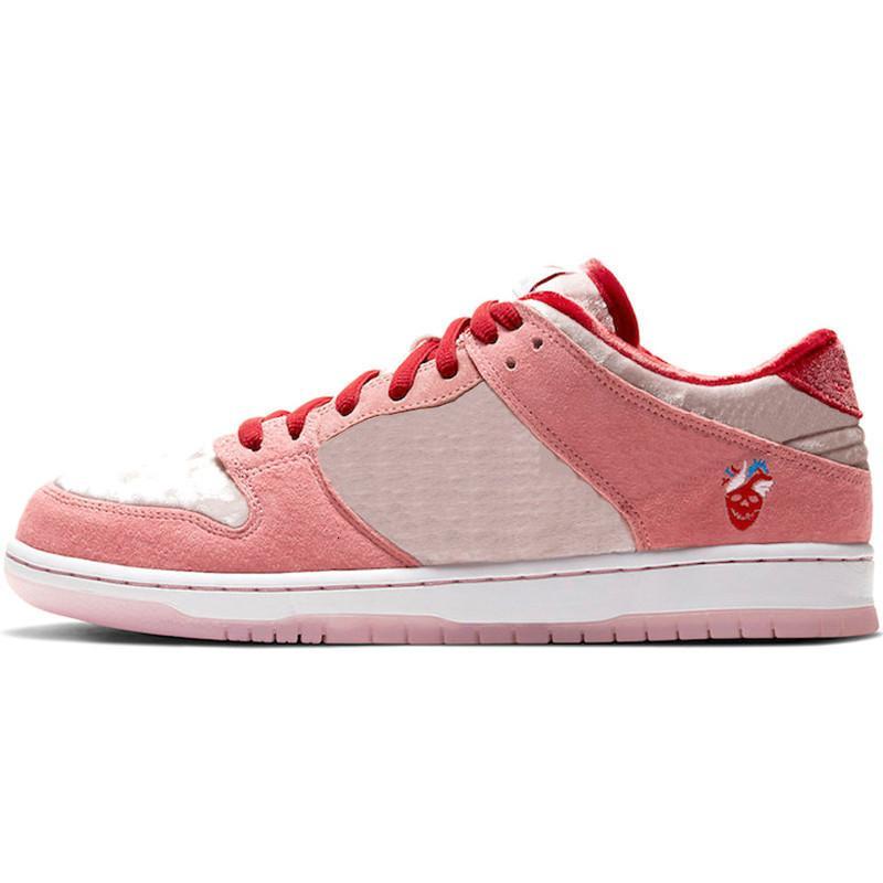 1s Dunk SB Blanca 2020 zapatillas de baloncesto para hombre Scotts Dunks Low Raygun Tie Dye Strange Love Valentine Day Entrenadores zapatillas de deporte