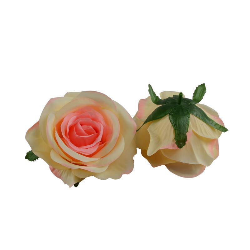 Rosa Fiore 50PCS Fiore di alta qualità del partito capi decorazione di cerimonia nuziale artificiale di cerimonia nuziale decorata Casa decorata