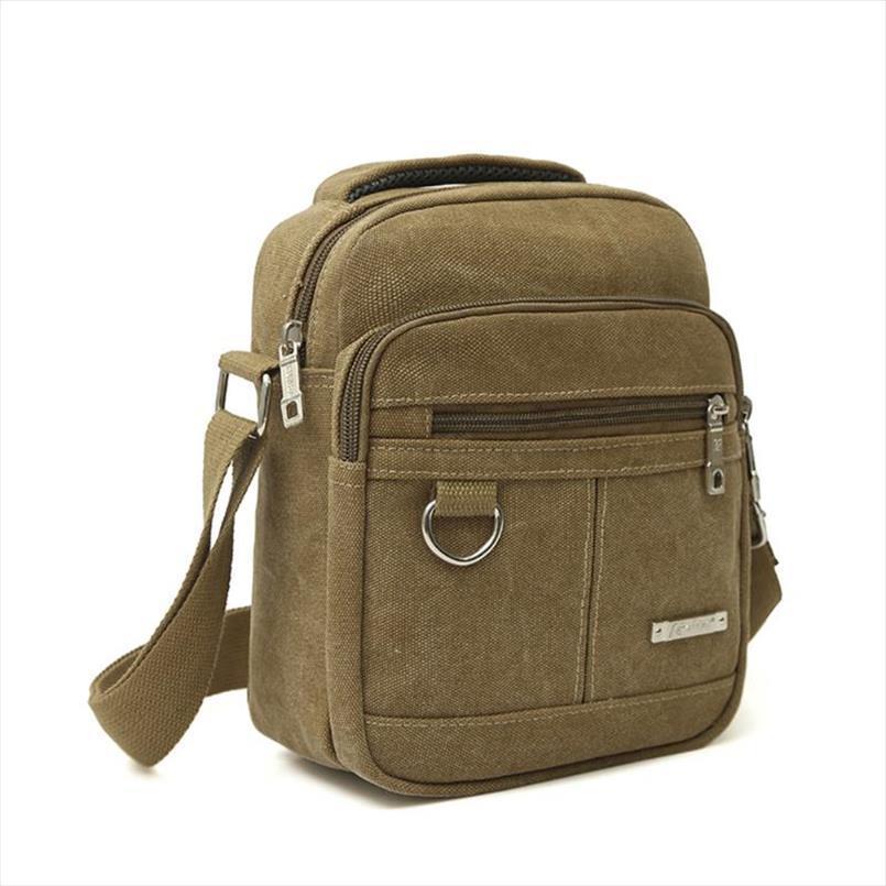 Croce Body Moda Uomo Canvas Shoulder Bag di alta qualità Crossbody della cartella del sacchetto casuale di trasporto di goccia di buona qualità