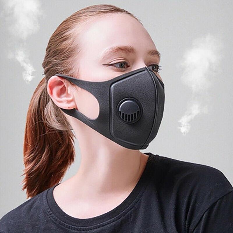 Анти пыли маска Рот Обложка РМ2,5 Респиратор Антибактериальные моющийся многоразовый Ice Шелковый хлопок Маски Взрослый Ребенок GA010