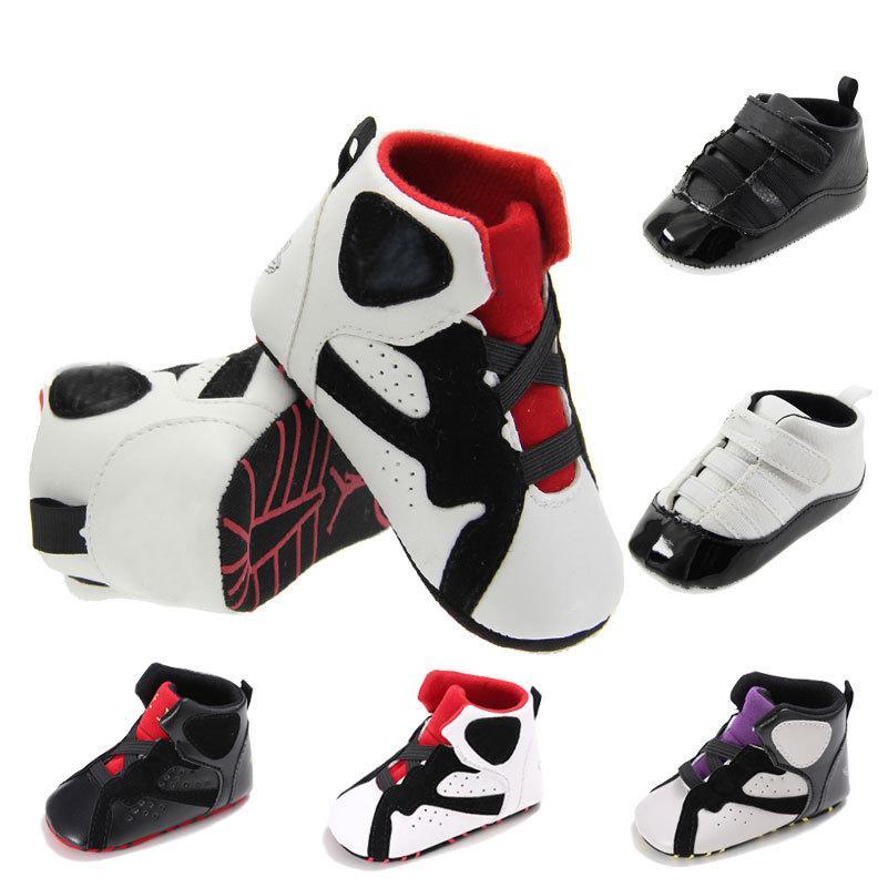 PU Cuero Baby Girls Kids First Walkers Infantil Snowdler Classic Sports Anti-Slip Sole Suela Sneakers Prewalker Primavera AUTUM