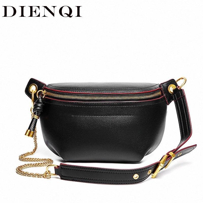 Moda multifunzione Genuine Leather borsa dell'organizzatore spalla a tracolla per le donne 2020 signore nero Messenger Bag Mess Laptop o98i #