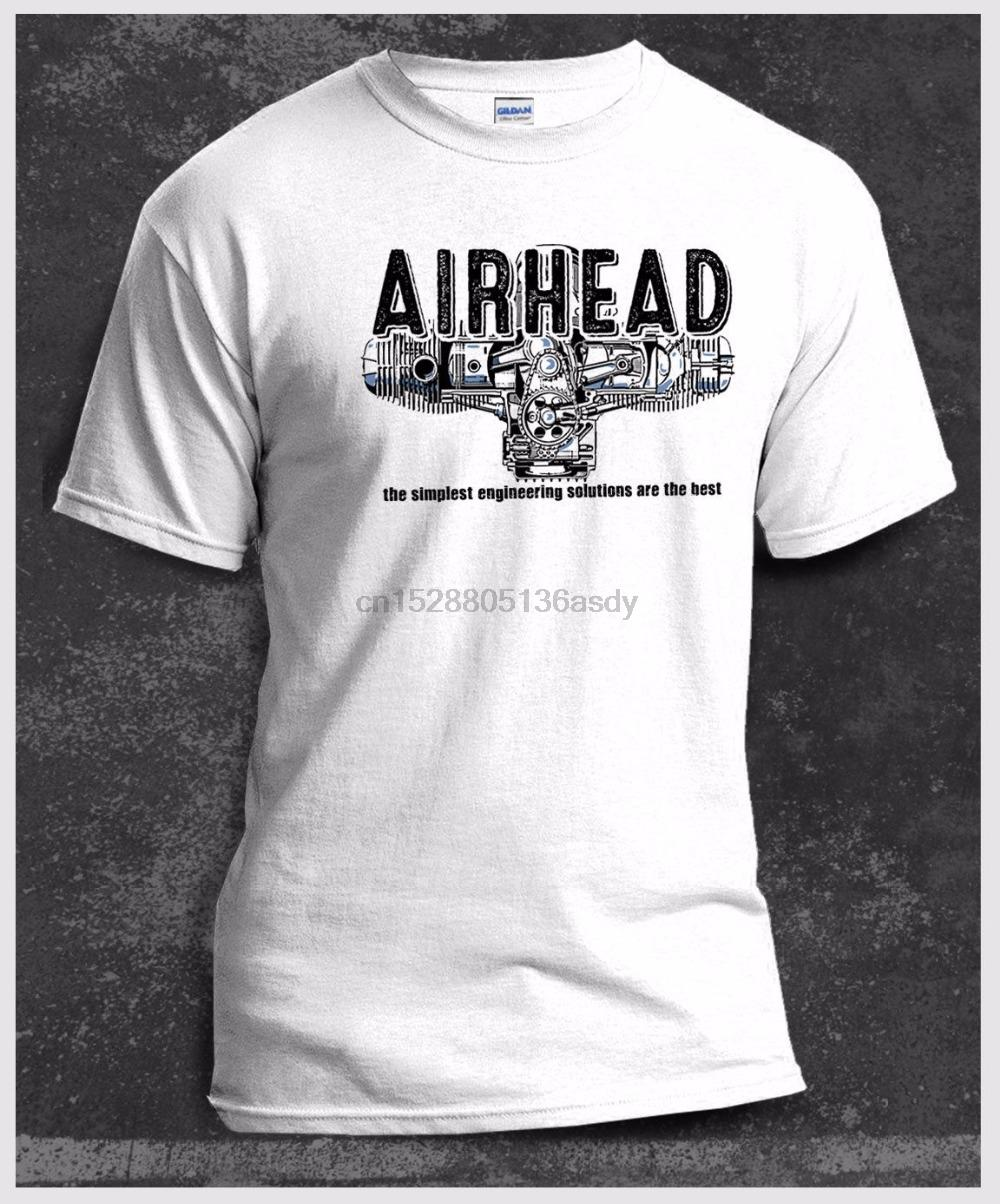 2019 New Hot Sale 100% хлопок T-Shirt Мужчины Одежда Плюс Размер Airhead Boxer Твин R65 R75 мотоцикла Белый Tee Shirt
