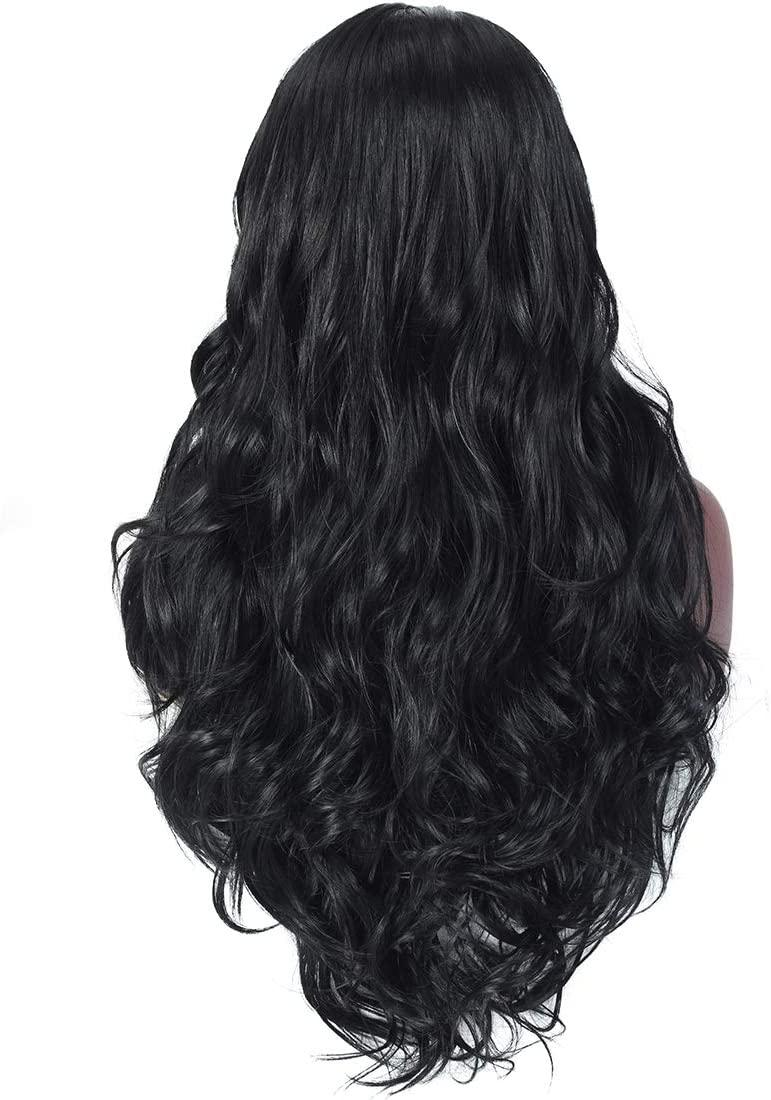 Newest Body Wave Lace Frontal Wig 13x6 Human Hair Wigs With Baby Hair Remy Malaysian Long Wavy Closure Lace Wigs For Black Women