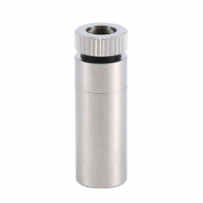 Due Pezzi 12x30mm focalizzata lenti laser da 5,6 millimetri TO-18 Laser Diode W200nm-1100nm lente Plastica Argento auto A6hB #