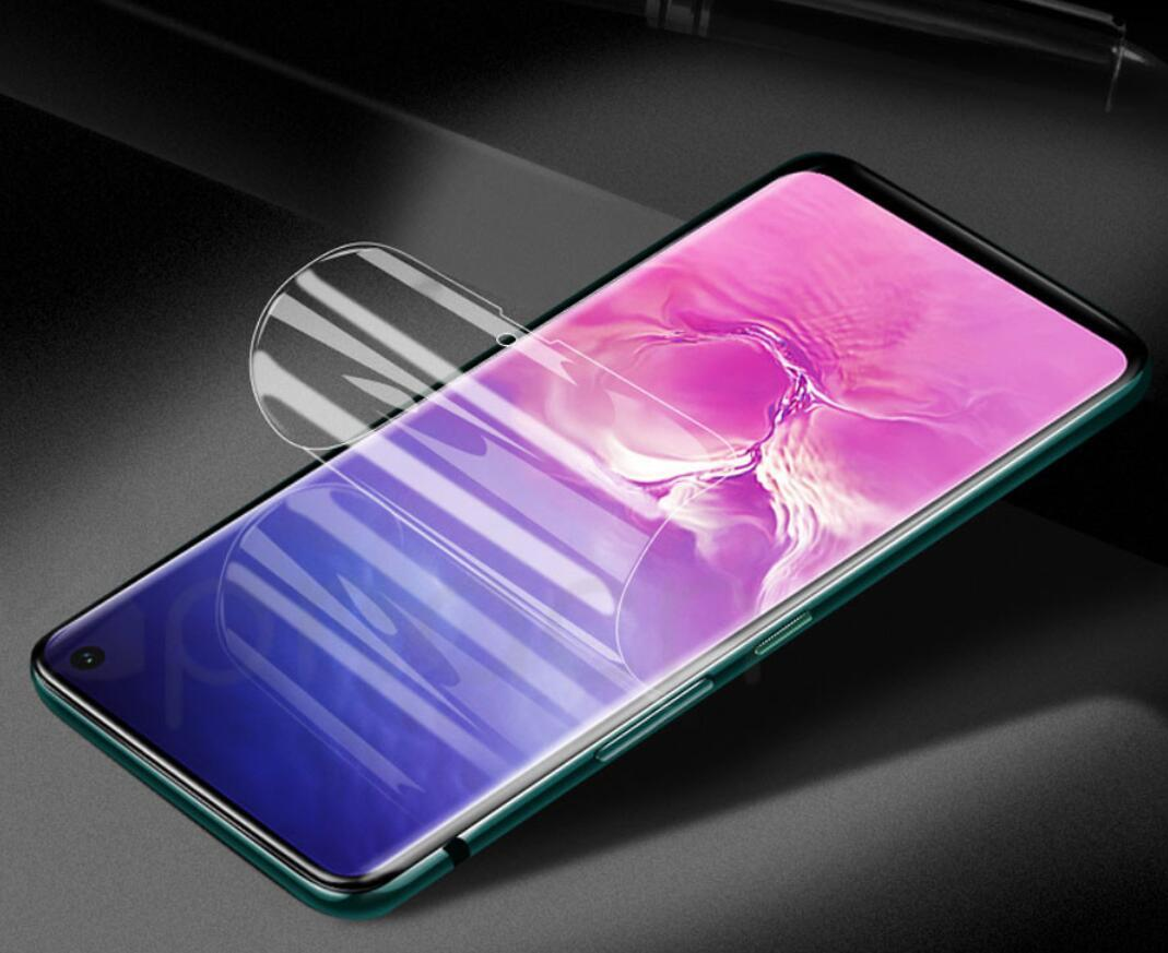 Full Curved Hydrogel Film For Samsung Galaxy S10 S9 S8 Plus S10e film For Samsung Note 10 Pro 9 8 Film Not Glass Screen Protector