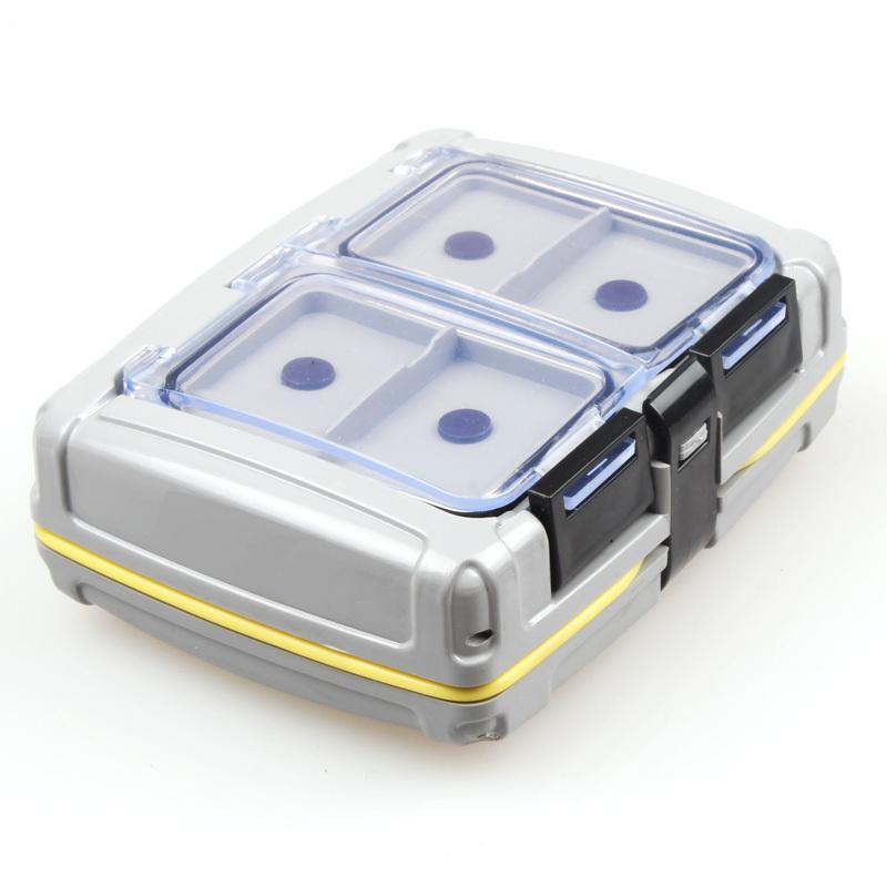 양자 낚시 상자 139g ABS 플라스틱 낚시 상자를 태클 10 * 8.5 * 3.5cm의 유혹 박스 잉어 낚시 액세서리 도구에 대한