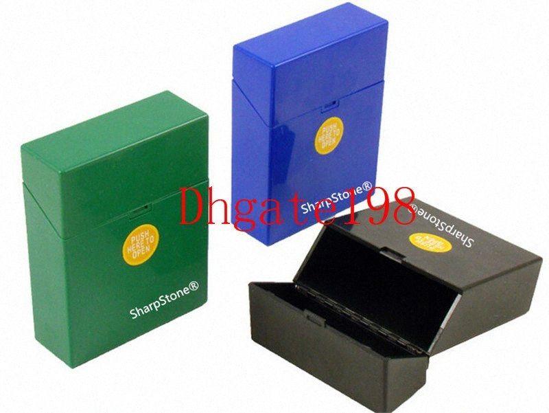 Fashion SharpStone for smoking herb grinder Cigarette Holder Tobacco Storage Case Gift New Fashion Plastic sharpstone Cigar Cigarette sXeL#