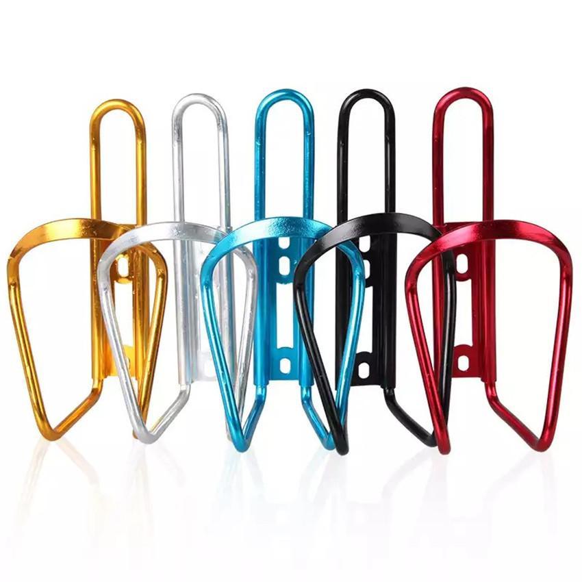 Alüminyum Alaşım Bisiklet Bisiklet Bisiklet İçecek Su Şişesi Raf Tutucu Dağı Dağı için Bisiklet Cage 5 Renkler katlama