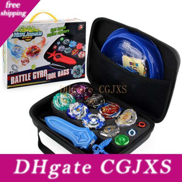 Beyblade Set Gyro Kit Battle Tops Case Toys 4d Constellation Beyblade Burst Gyro Battle Set With Launchers Spinning Disk Top Bey Blades Toys