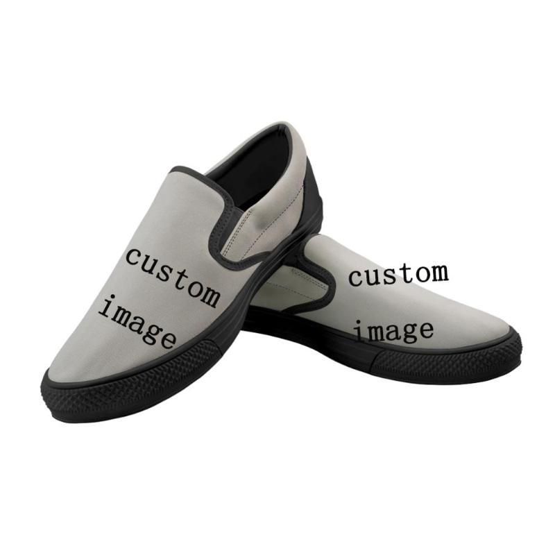 Image Canvas Shoes High
