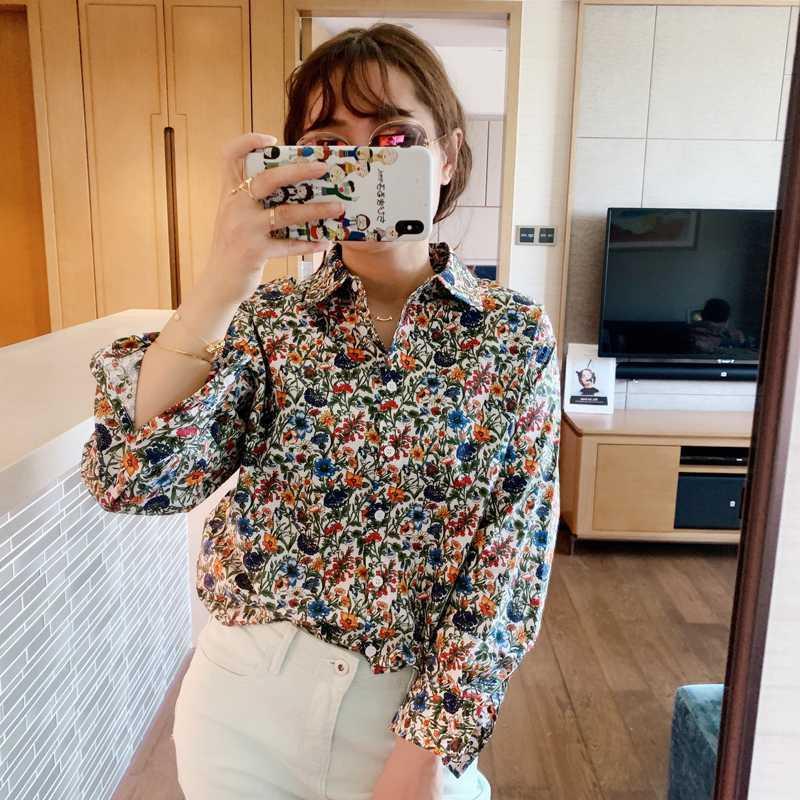 Женские блузки рубашки женские рубашки романтическая винтажная свободная летучая мышь рукав