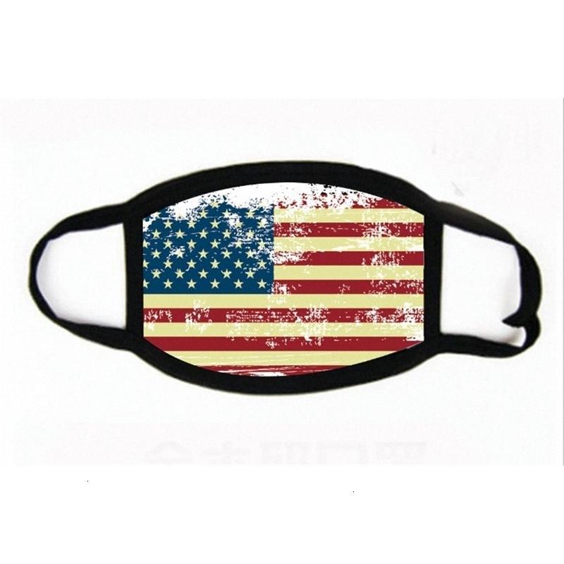 Trump Amerika Yüz Maske Karikatür Baskılı Yeniden kullanılabilir Abd Bayrağı 3d Leopar Anti Toz Yıkanabilir Açık Ağız Kapak Tasarımcı Maskeler yazdır Ljja4 Znom #