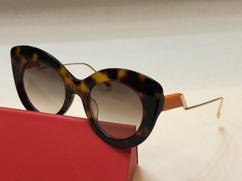 0353 Солнцезащитные очки для женщин Конструктор Goggle Популярные Мода лето кошачий глаз Стиль Верхнее качество UV защиты объектива Adumbral Free Come With Case