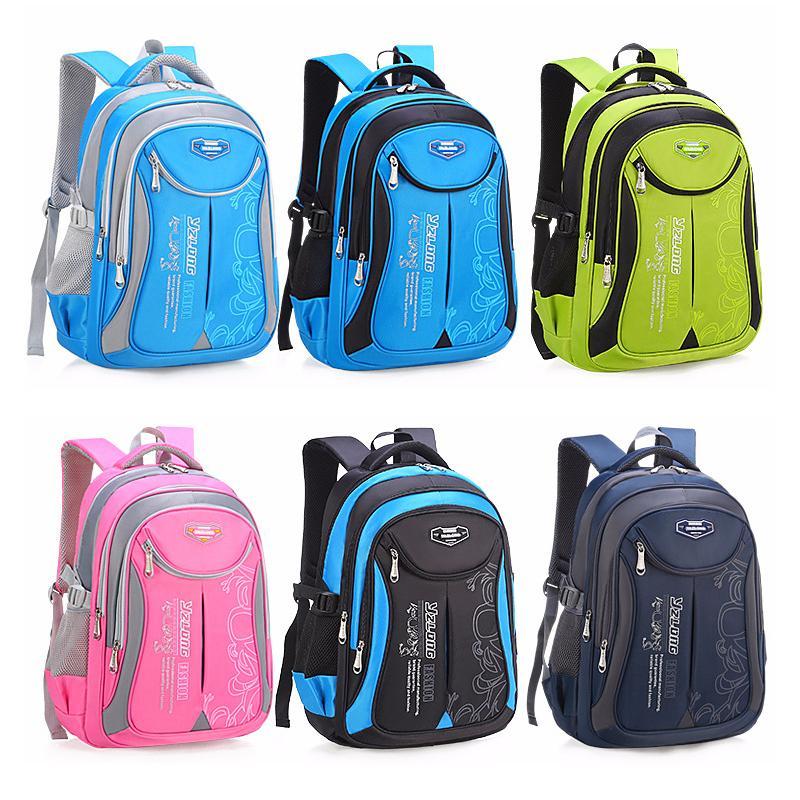 2020 горячих новые дети школьных сумок для подростков мальчиков девочек большой емкости школа рюкзака водонепроницаемого ранца дети мешок книги Mochila