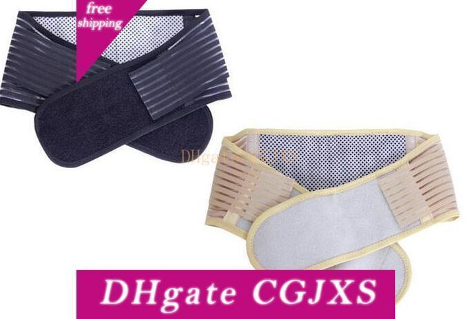 Slimming Massager Belt Lower Back Support Waist Lumbar Brace Belt Strap Health Care Free Shipping