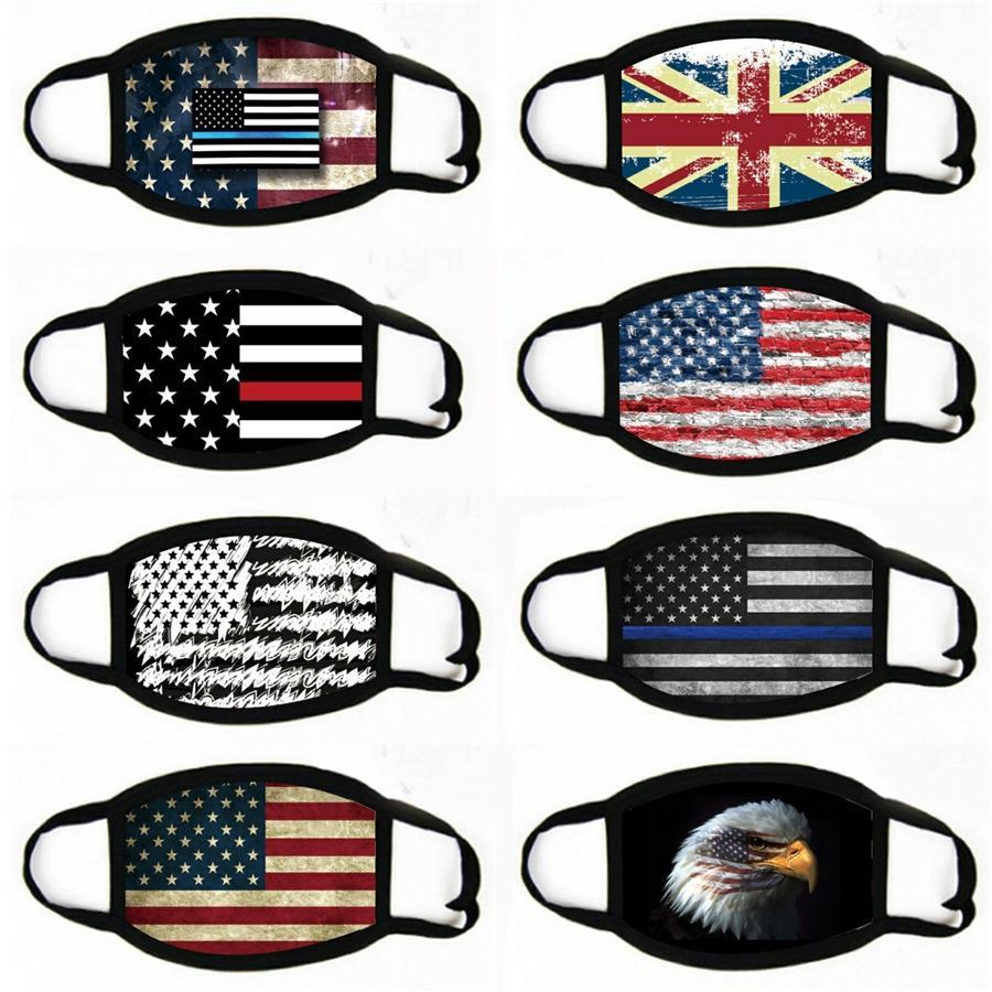 Itália Espanha Bandeira máscara de impressão Máscaras continuar lutando Tecido Adulto ProtectiveMask Proof Designer lavável # 465