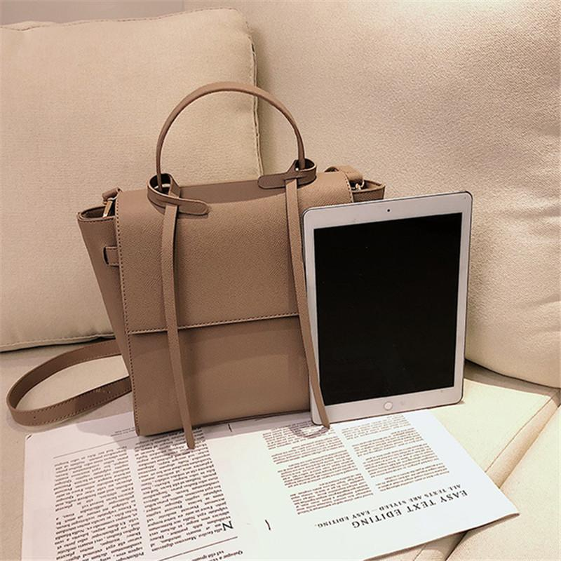 sac à bandoulière grand pour femmes en peau de vache sacs à main en cuir forme trapèze sacs crossbody de style pour les femmes 200924