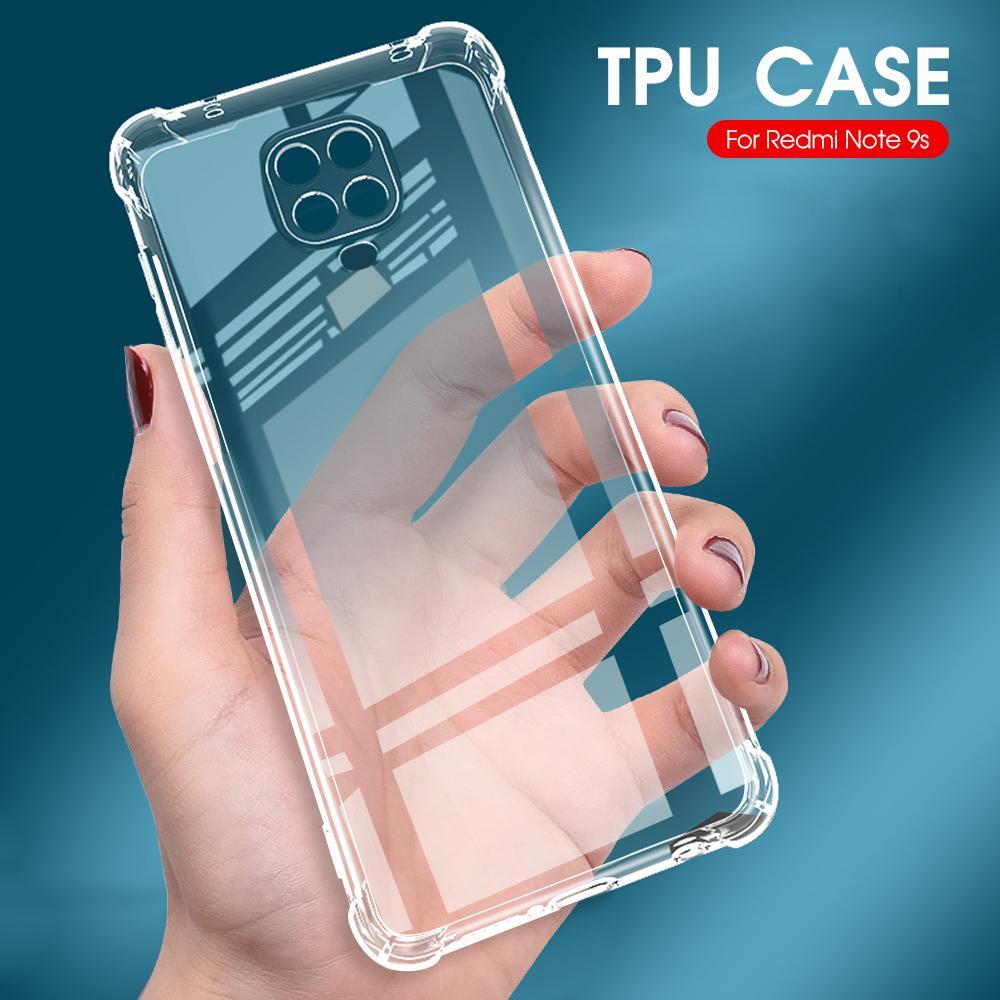 Antichocs TPU Bumper pour iPhone XS Max XR X Silicone Téléphone cas pour l'iPhone 8 7 6 6s Plus 11 Pro Max Transparent Housse de protection