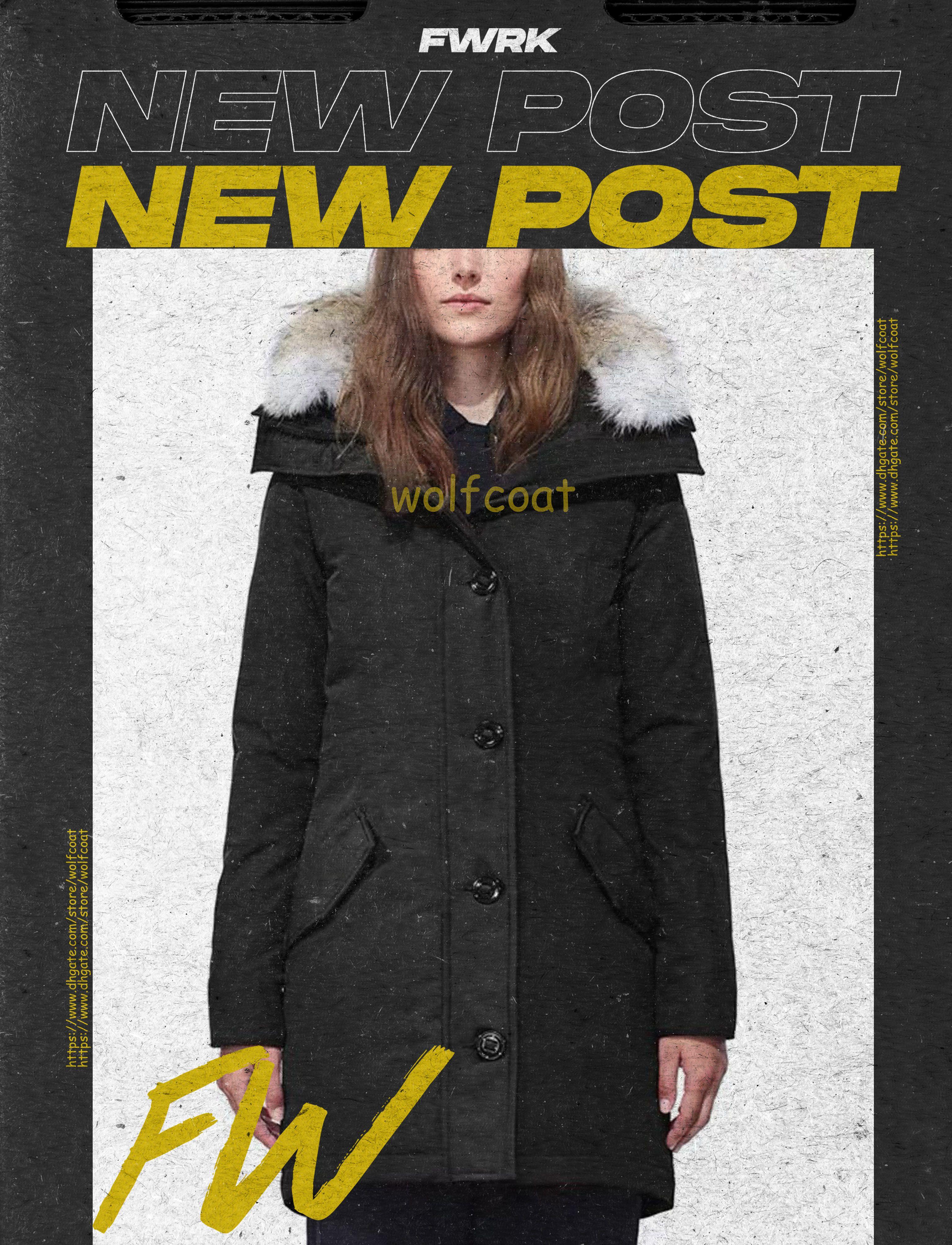 En Kaliteli İyi Parkas Kış Kadın Aşağı Ceket Kadın Giyim Renk Palto Ceket Parka Fermuar Moda
