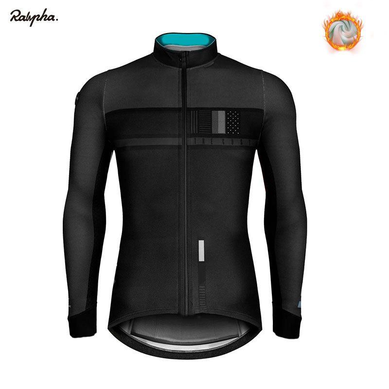 2020 자전거 저지 프로 팀 의류 겨울 양털 자전거 의류 긴 소매 사이클링 셔츠 로파 Ciclismo 트라이 애슬론