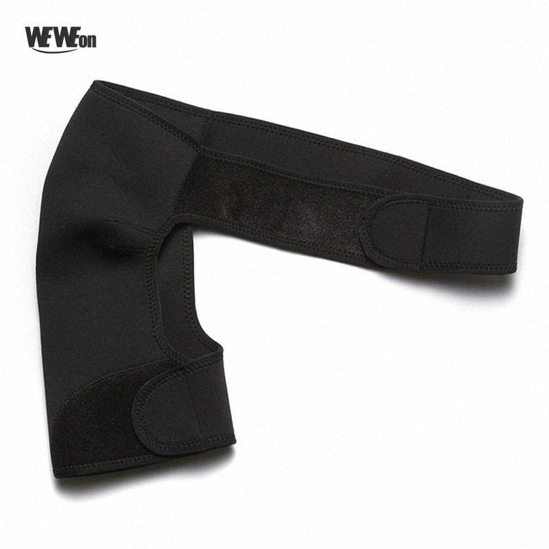Elasticité de protection Bras Ceinture seule épaule Support Retour Brace Garde Sangle Enveloppement Ceinture corset en plastique S1cg #