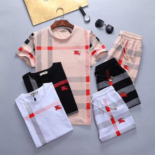 Luxury Designer Men's Jogging Suits Short sleeve tshirt Sweatshirt Slim Fit Tracksuits for track suit Men sport wear man