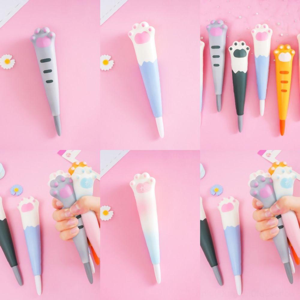 rluxe Pink Colour mm Black Ink Press Gel Ink Pen Cute Sweet Heart Shaped Writing Pens Student stress reliever OfficeKids Girl Cartoons Gift