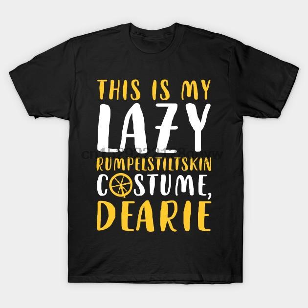 Hombres camiseta Este es mi traje de Lazy Rumpelstiltskin. Víspera de Todos los Santos. Mujeres camiseta camiseta