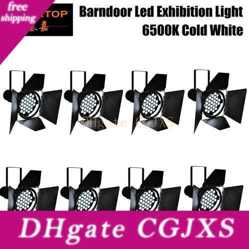 Couleur Blanc froid Led Exposition de 8lot moteur stand Barndoor Dmx Par Lumière Couleur Blanc pur
