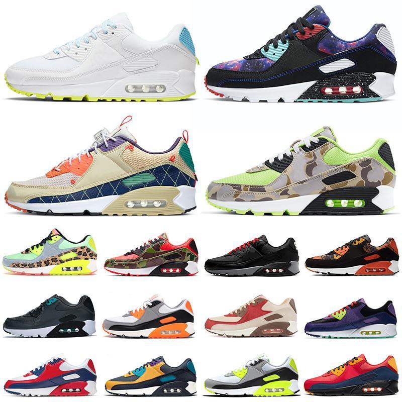 air max 90 airmax 90s Camo Premium SE koşu ayakkabı erkekler kadınlar erkek eğitmenler Spor açık Sneakers