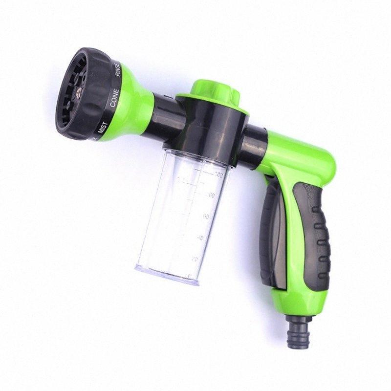Vehicules Mousse d'eau Pistolet laveur de voiture 8 Splash portable à haute pression de lavage Pistolet d'eau Accueil Mousse Styling Clearning Outil 5ihP #