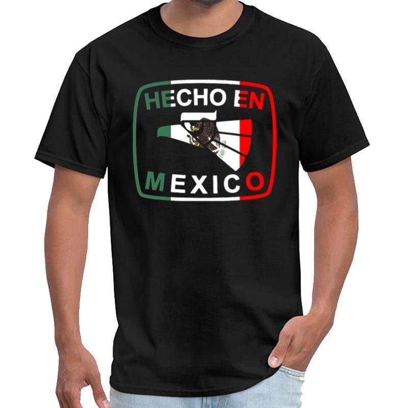 Пользовательские Мексиканского Дизайн Мексиканского флаг Дизайн для мексиканского Pride Hecho En Мексика Сена тенниска Ьотты Том закоулок Футболка 3xl 4xl 5xl бедро