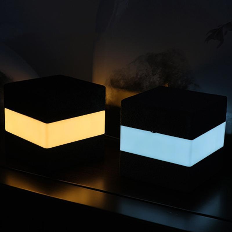 Touch Control-Nachtlichter LED-Schreibtisch-Tabellen Nachttischlampen Batterie USB aufladbare Lichter Platz Nacht für Wohnzimmer Schlafzimmer Wohnkultur