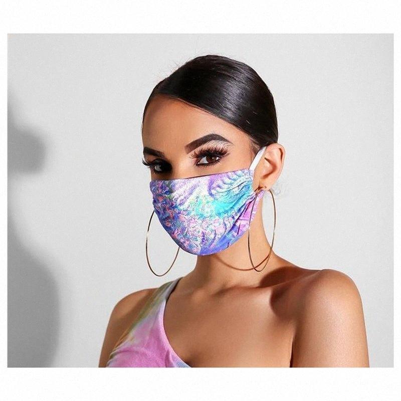 29 de style masque de visage de colorant de lien Feuilles papillon Fleurs Masques bouche 3D Anti Haze Masque anti-poussière respirante Designer YYA315 2kGP #