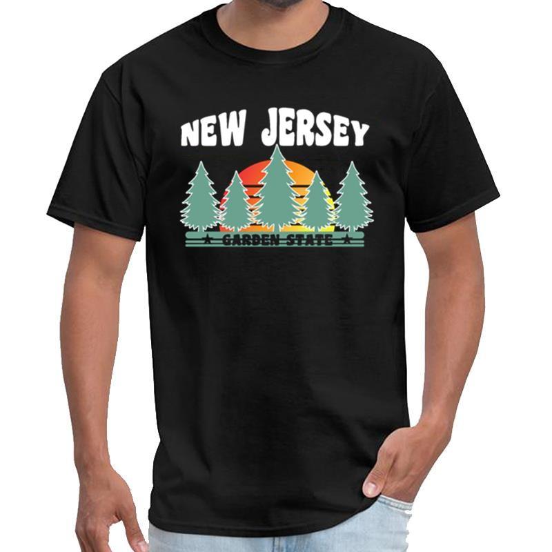 camisa personalizada Nueva Jersey City regalo del estado jardín streetwear caballeros thunderdome camiseta 3XL 4XL 5XL camiseta top